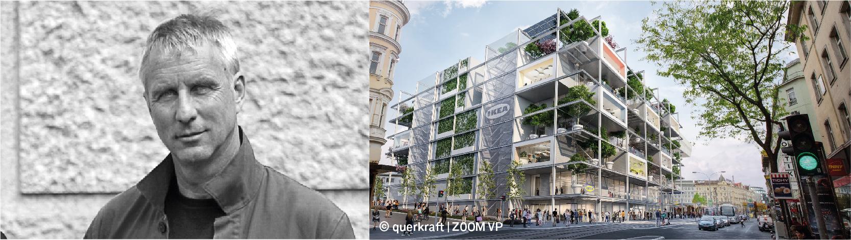 Portrait Jakob Dunkl, IKEA Wien