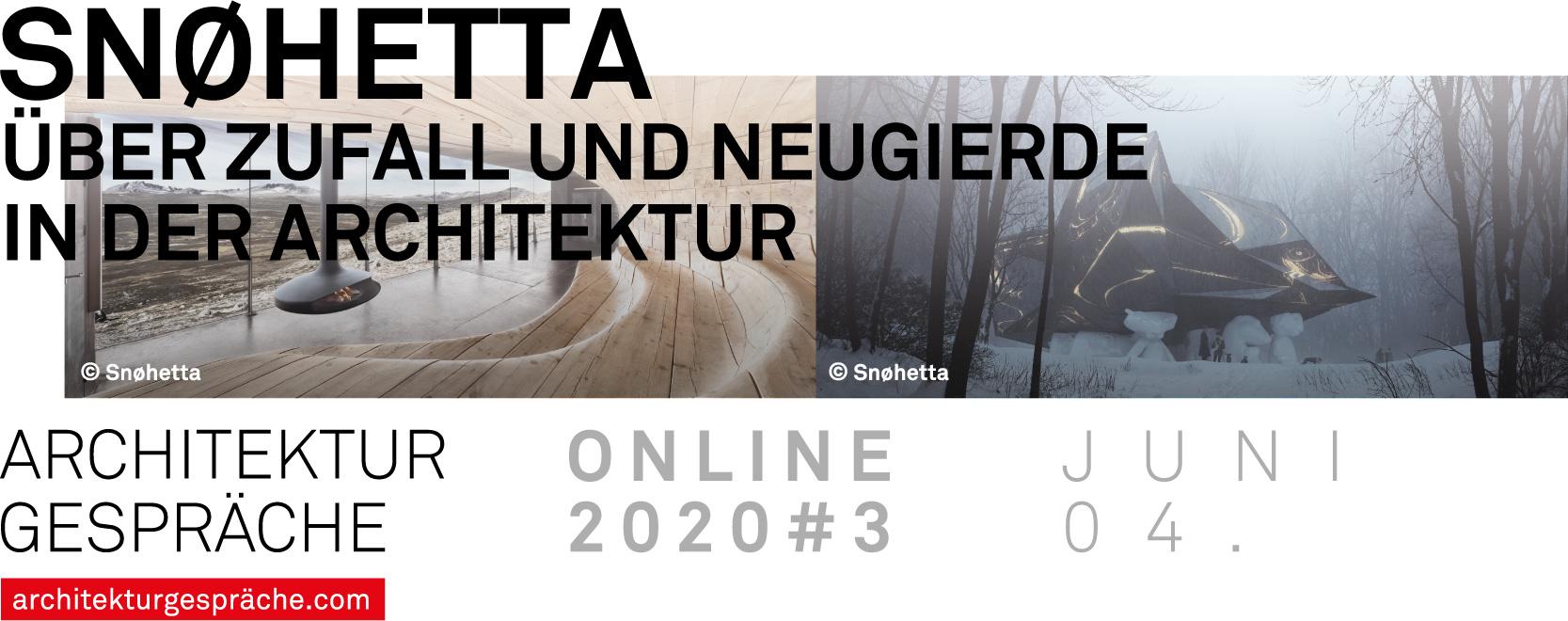 Online Architekturgespräch mit Patrick Lüth von Snøhetta